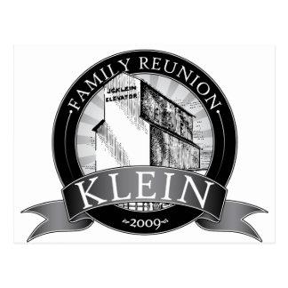 Klein Reunion Postcard
