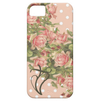 Klein Roses Christian iPhone 5 Case-Pink Dots iPhone 5 Covers