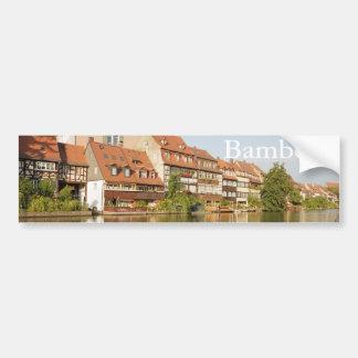 Klein Venedig Bamberg Bumper Sticker
