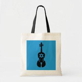 Klezmer Fiddle Tote Bag