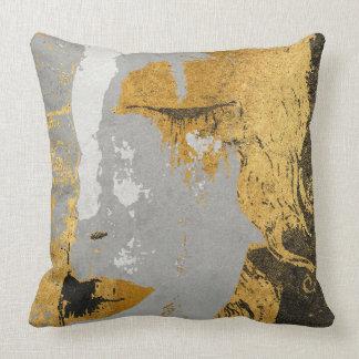 "Klimt art Stylization Throw Pillow 20"" x 20"""