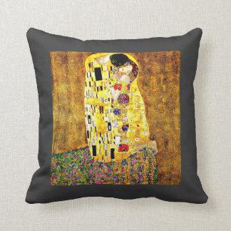 Klimt art  - The Kiss Cushion