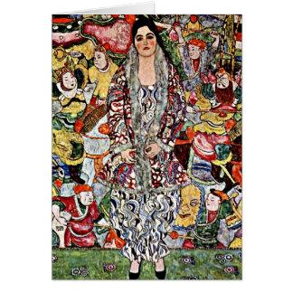 Klimt - Fredericke Maria Beer - Gustav Klimt art Card