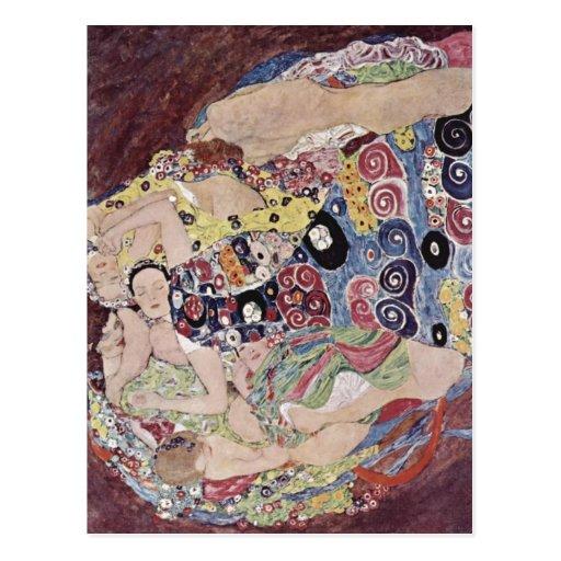 Klimt, Gustav Catal?: Les verges Die Jungfrau The  Post Cards