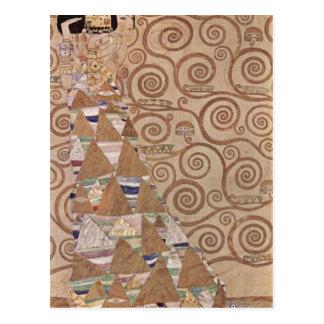 Klimt, Gustav Entwurf f?r den Wandfries im Palais  Postcard