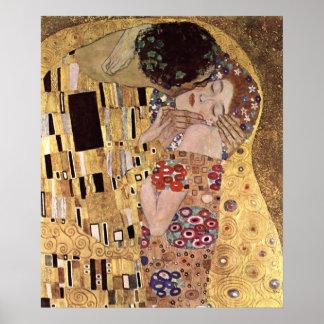 Klimt Gustav The Kiss Poster