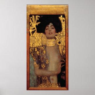 Klimt Judith Poster