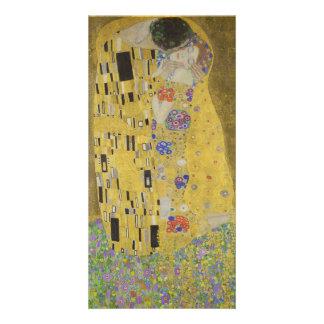 Klimt Kiss Picture Card