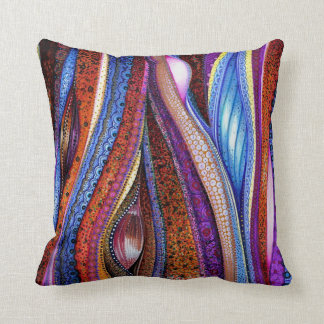 Klimt Meets O'Keeffe Cushion