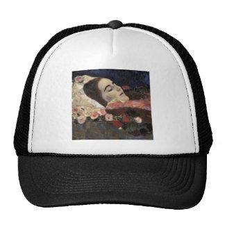 Klimt Ria Munk On Her Deathbed Hats