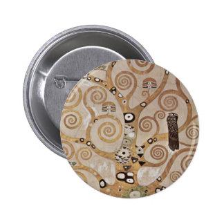 Klimt -  Stocletfries 6 Cm Round Badge