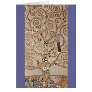 Klimt -  Stocletfries Greeting Card