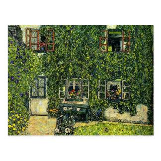 Klimt - The House of Guardaboschi Postcard
