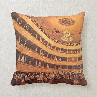 Klimt - The Old Burgtheater Cushion