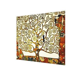 Klimt - The Tree of Life, stoclet frieze Canvas Print