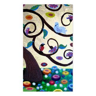 Klimt  tree business card