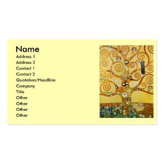 Klimt Tree of Life Pack Of Standard Business Cards