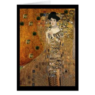 Klimt's Adele Bloch-Bauer Portrait Card
