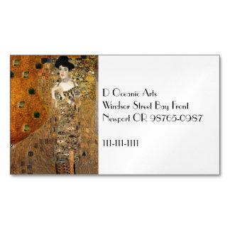 Klimt's Portrait Adele Bloch-Bauer Magnetic Business Card