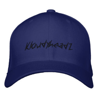 kloudyhead hat embroidered hat
