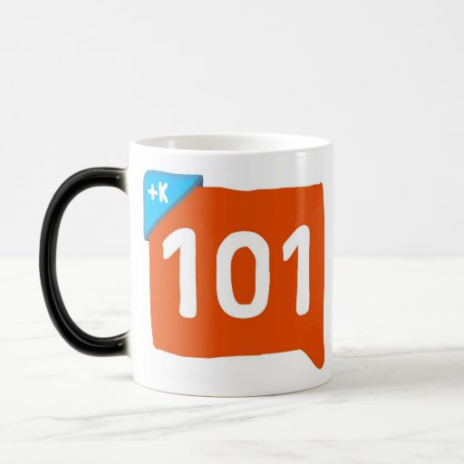 Klout 101 coffee mug