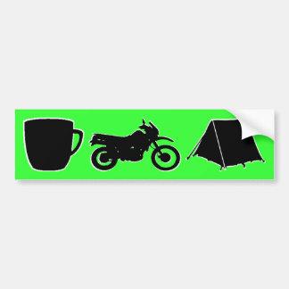 KLR dualsport bumpersticker Bumper Sticker