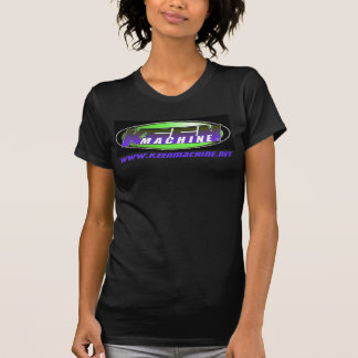 KM Exclusive LADIES BLK BLU Logo BabyDoll T T Shirts