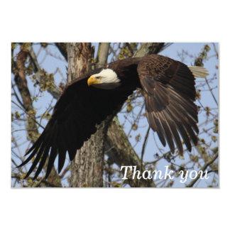 "KMCphoto Eagle Matte 3.5"" x 5"" Thank You Card"