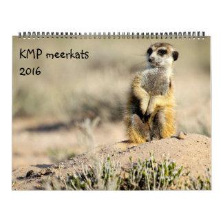 KMP Meerkats - 2016 Calendar
