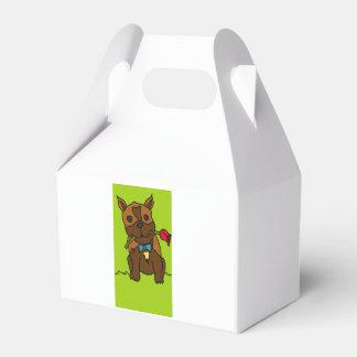 Knapsack Favour Box