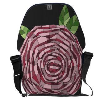 Knapsack - Stock market Rosa Vitral Messenger Bag