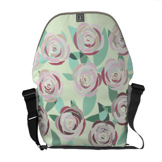 Knapsack Stock market Vitral Rosa Rose stained Courier Bags