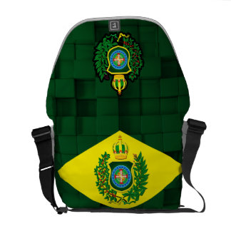 Knapsack Wallet with Imperial Flag Messenger Bags