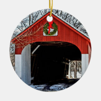 Knecht's covered bridge ornament