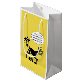 Knee Replacement Surgery - Fun Quote Small Gift Bag