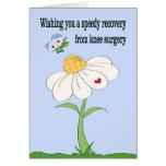 Knee Surgery Get Well Card