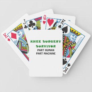 Knee Surgery Survivor Part Human Part Machine Card Deck