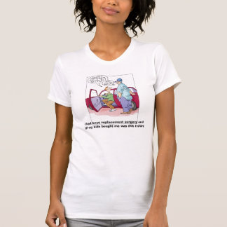 KneeCrack, I had knee replacement surgery andal... T-Shirt