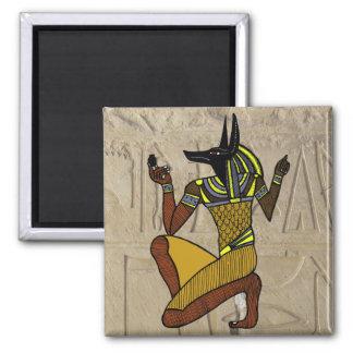 Kneeling Anubis Magnet
