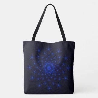 Kneeling Christ with Stars Tote Bag