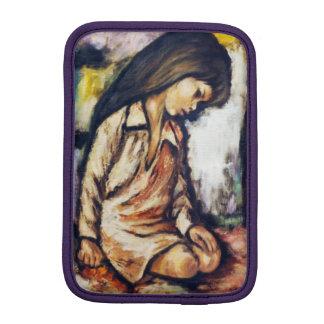 Kneeling Girl Mini Ipad Case
