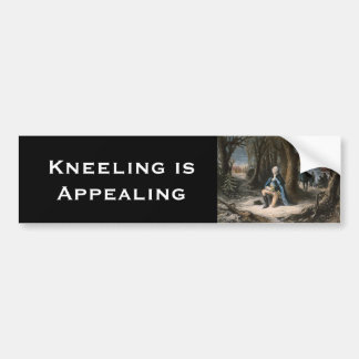 Kneeling is Appealing Bumper Sticker