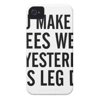 Knees Weak iPhone 4 Cover
