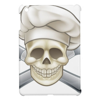 Knife and Fork Pirate Chef iPad Mini Covers