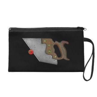 knife and tomato wristlet purses