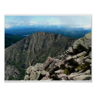 Knife Edge, Baxter State Park, Maine Poster