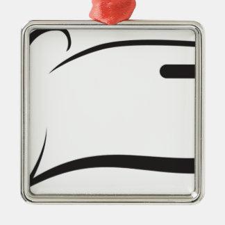 Knife Metal Ornament