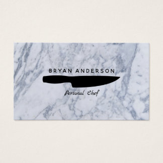 Knife Personal Chef Business Card