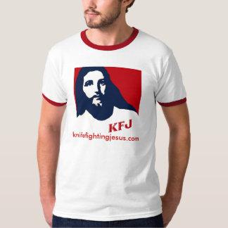 KnifeFightingJesus.com Tee Shirt