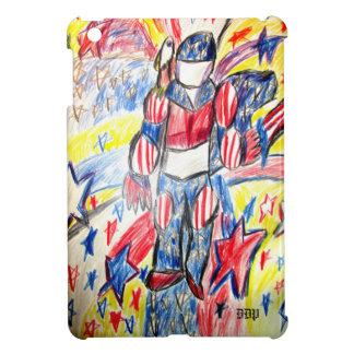 knight and eagle iPad mini cover